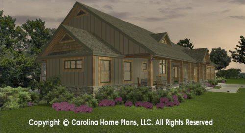 SG-1799 Sophisticated Rustic House Plan