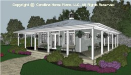 SG-676 Tiny Retiree Houseplan