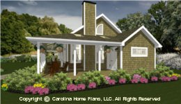 SG-947  Wrap-Around Porch House Plan