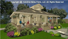 SG-979 Small Lot House Plan