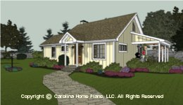 SG-980 Downsizing Small House Plan