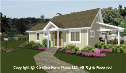 SG-980 Small Lot House Plan