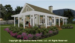 SG-980  Wrap-Around Porch House Plan