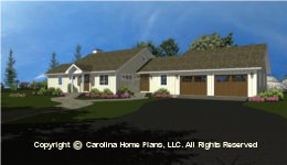 SG-980 House Plans with Garage