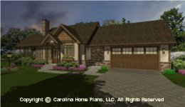 SG-981 House plan with Garage