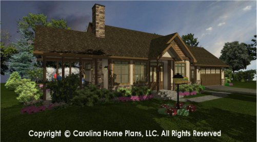 SG-981 Sophisticated Rustic House Plan