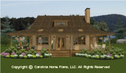 SM-1568 House plan with Basement