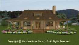 SM-1568 Porch Small Houseplan