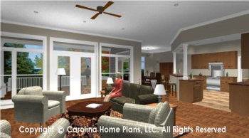 SP-3581 Open Floor Plan