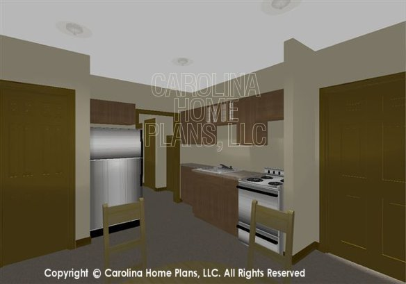 CR-2880 Lower Level Kitchenette