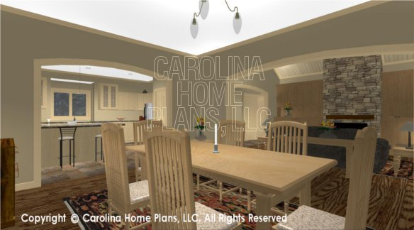 CR-3191 3D DINING ROOM