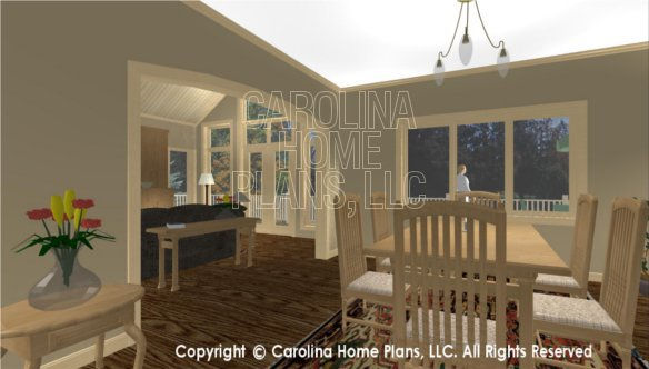 CR-3191 3D DINING ROOM AND LIVING ROOM