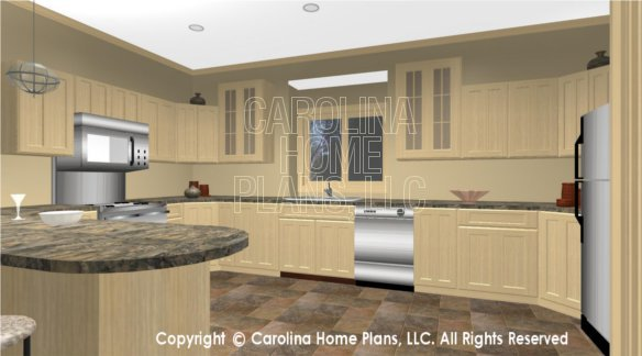 CR-3191 3D KITCHEN