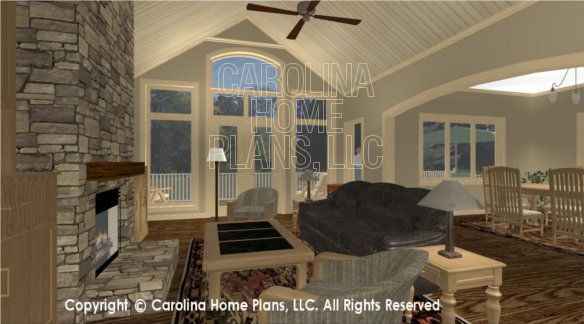 CR-3191 3D LIVING ROOM