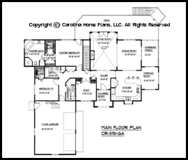 Delightful CR 3191 Main Floor Plan