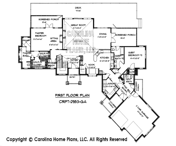 Reverse story and half house plans Home design and style