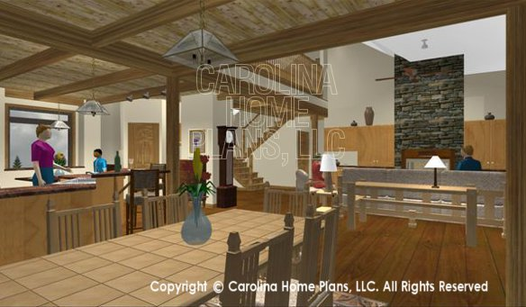 CRFT-2953 3D Dining, Kitchen, Great Room
