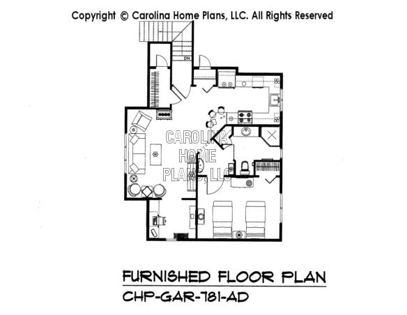 LG-2715-GA Furnished Apartment Floor Plan