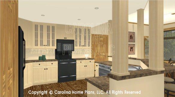 Foyer Plan Kitchen : D images for chp lg ga large craftsman house