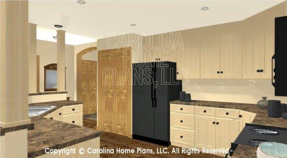 LG-2810 3D Kitchen