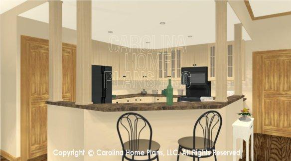 LG-2810 3D Kitchen Lunch Bar
