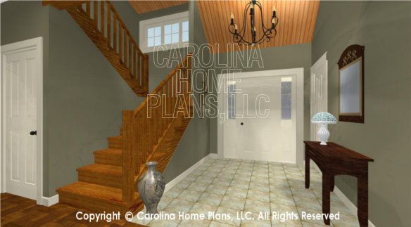 LG-2621 3D Foyer and Stairway