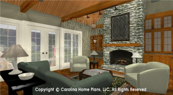 LG-2621 3D Great Room To Porch
