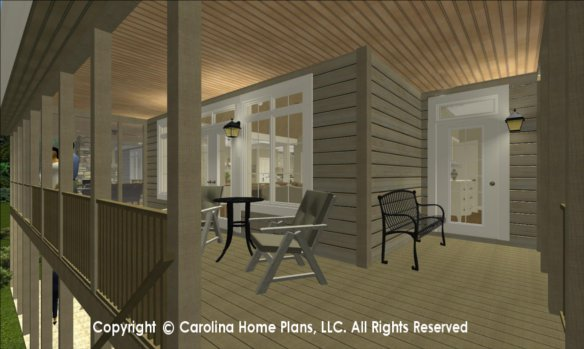 LG-2715 3D Covered Porch to Great Room