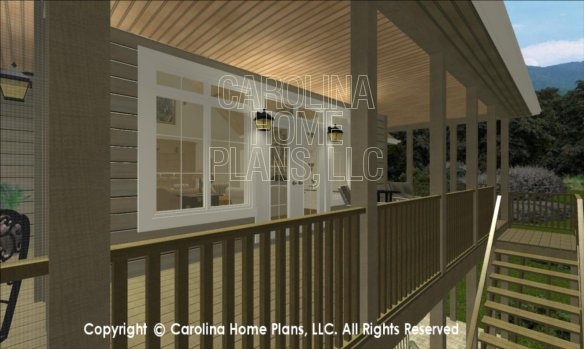 LG-2715 3D Covered Porch