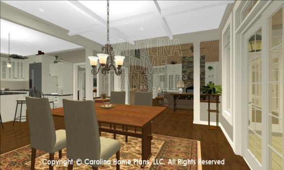 LG-2715 3D Dining to Foyer