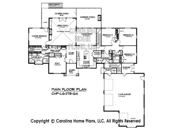 LG-2715 Main Floor Plan