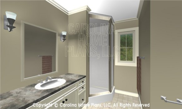 LG-2715 3D Apartment Bath