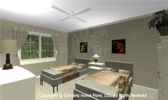 LG-2715 3D Apartment Bedroom