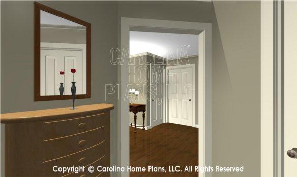 LG-2715 3D Apartment Hallway to Foyer