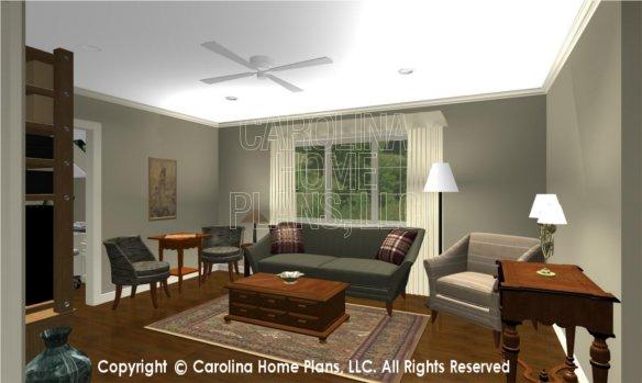 LG-2715 3D Apartment Living Room
