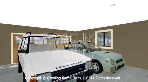 LG-3096 3D Garage