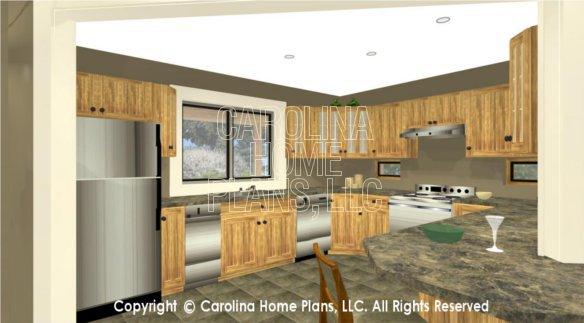LG-3096 3D Kitchen