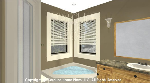 LG-3096 3D Master Bath