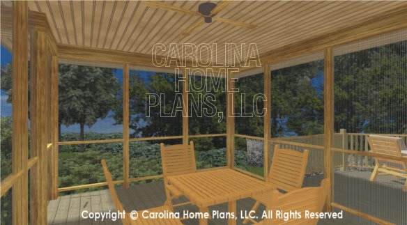 LG-3096 3D Screened Porch
