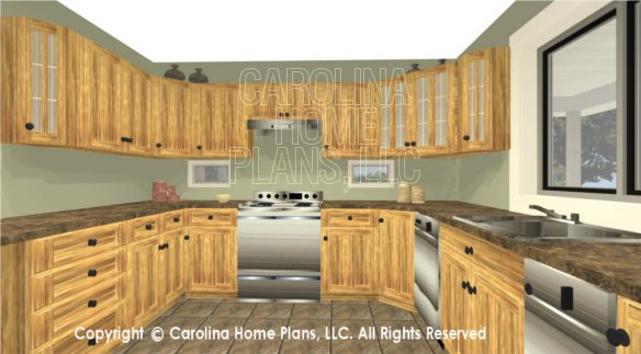MS-1812 3D Kitchen Cabinets