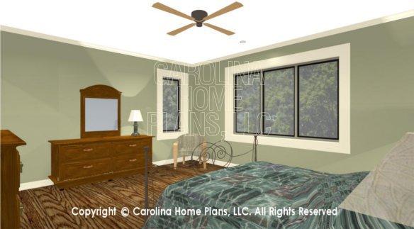 MS-1812 3D Master Bedroom View 1