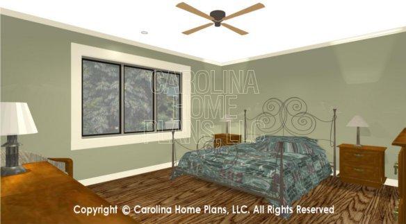 MS-1812 3D Master Bedroom View 2