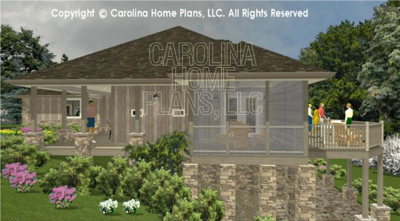 3d images for chp ms 1812 ac mid sized open style 3d for House plans ms