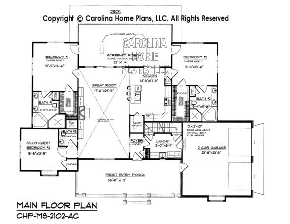 MS-2102 Main Floor Plan