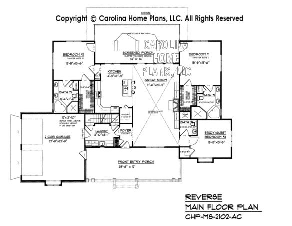 MS-2102 Reverse Main Floor Plan