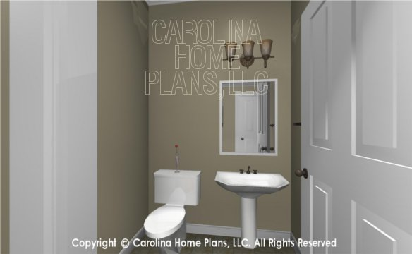 MS-2138-AC 3D Powder Room