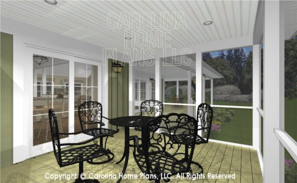 MS-2138-AC 3D Screened Porch
