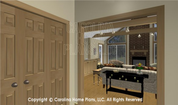 MS-2283-AC 3D Foyer to Living Room