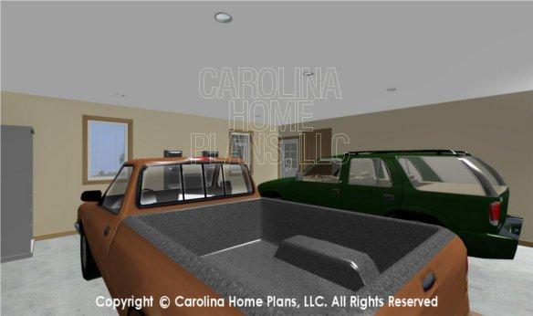 MS-2283-AC 3D Garage