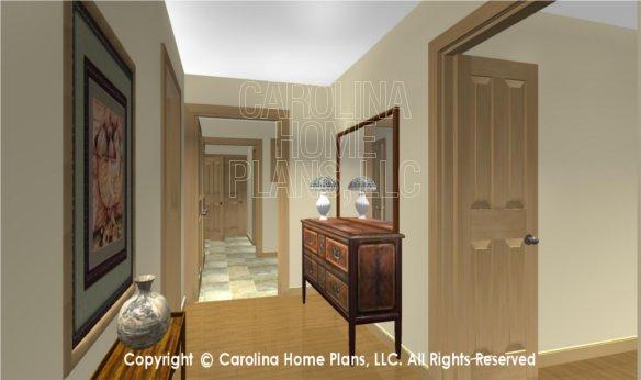 MS-2283-AC 3D Hallway to Laundry